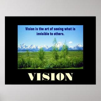 Spring Tetons VISION poster