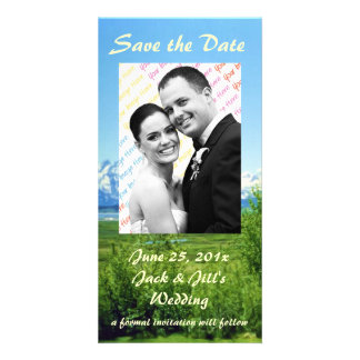 Spring Tetons WEDDING Save The Date Photo Cards
