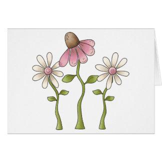 Spring Things · Pink Flowers Card