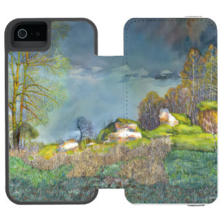 Spring thunderstorm incipio watson™ iPhone 5 wallet case