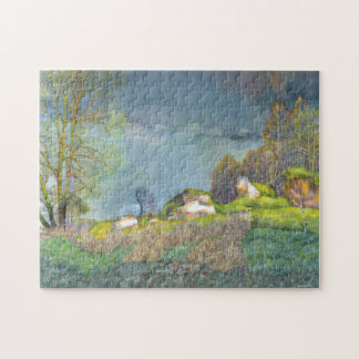 Spring thunderstorm jigsaw puzzle