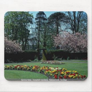 Spring time, Annahill Gardens, Kilmarnock, Scotlan Mouse Pads