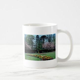 Spring time, Annahill Gardens, Kilmarnock, Scotlan Coffee Mug