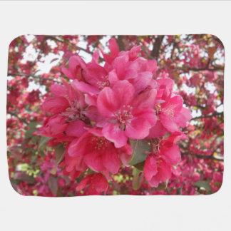 Spring Time Flower Baby Blanket