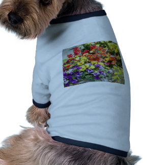 Spring Time Flowers Doggie T-shirt