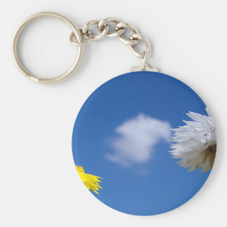 Spring time flowers keychain
