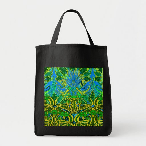 Spring time in the flower garden bags