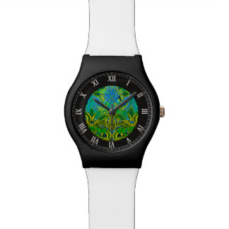 Spring time in the flower garden watches