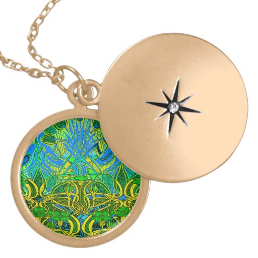 Spring time in the flower garden necklaces