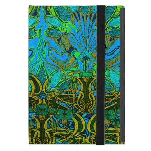 Spring time in the flower garden pattern iPad mini cover