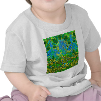 Spring time in the flower garden shirts
