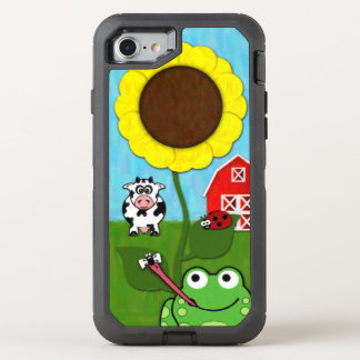 Spring Time on the Farm OtterBox Defender iPhone 7 Case