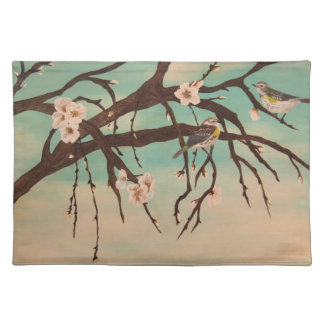 Spring time place mat