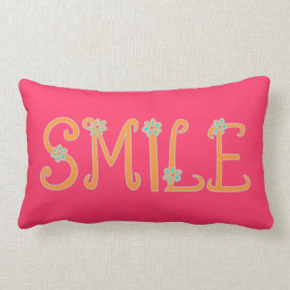 Spring Time Smiles Lumbar Cushion