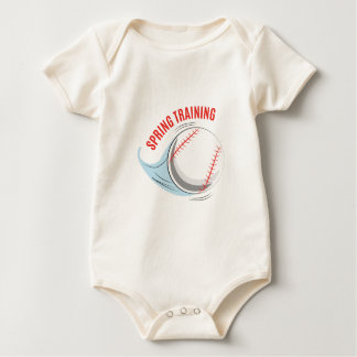 Spring Training Baby Bodysuit
