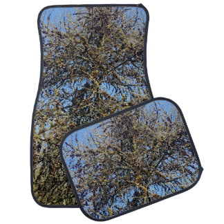 Spring tree car mat