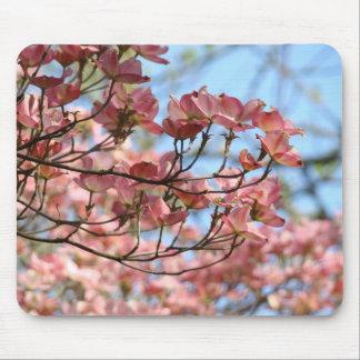 Spring Tree flowering mousepads Pink Dogwood Tree