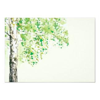 Spring Tree Seasonal Invitation