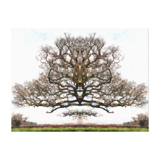 SPRING TREES STRETCHED CANVAS PRINT