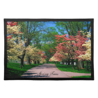 Spring Trees Placemat