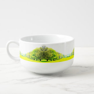 Spring Trees Soup Mug / Cereal Bowl