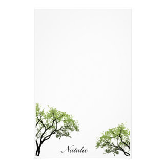 Spring Trees Stationery