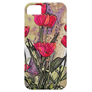 Spring Tulips Barely There iPhone 5 Case