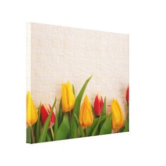 Spring Tulips Canvas Prints
