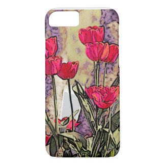Spring Tulips Case