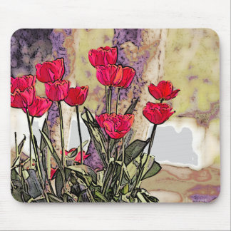 Spring Tulips Mousepad