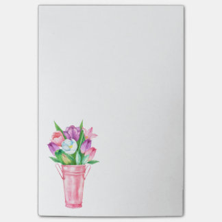 Spring Tulips Post-it Notes