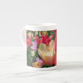 Spring Tulips Tea Cup