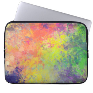Spring Tulips Watercolor Laptop Sleeve