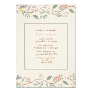 Spring Vines Invitation