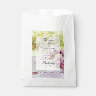 Spring vintage flower loveletter wedding favour bag
