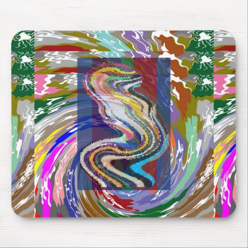 SPRING Wave Dance : Enjoy SHARE joy with friends G Mouse Pads