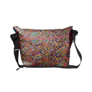 Spring Waves Celebrations Courier Bag