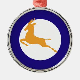 Springbok Metal Ornament