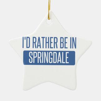 Springdale Ceramic Ornament