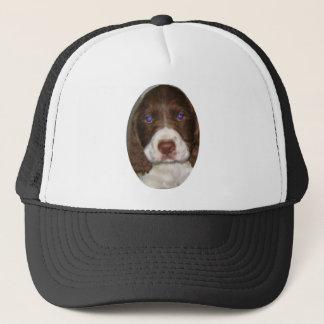 Springer Puppy Trucker Hat