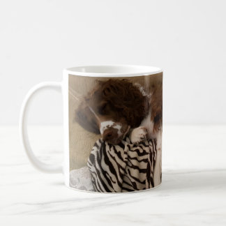 Springer spaniel humorous mug