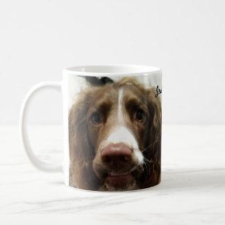 Springer spaniel mug smile