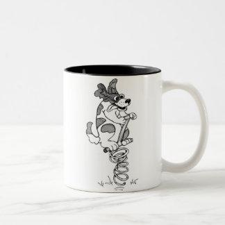 Springer Spaniel Two-Tone Coffee Mug