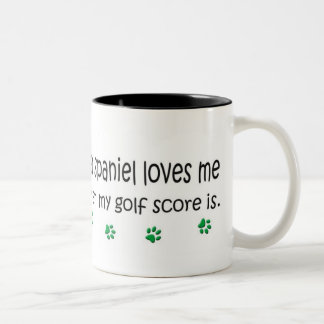 SpringerSpaniel Two-Tone Coffee Mug