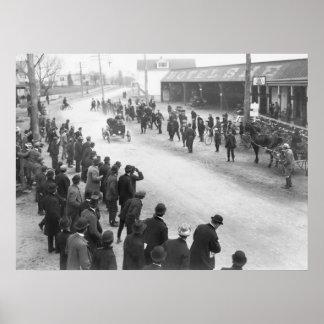 Springfield Auto Race: 1900 Poster