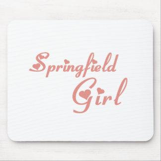 Springfield Girl tee shirts Mouse Pad