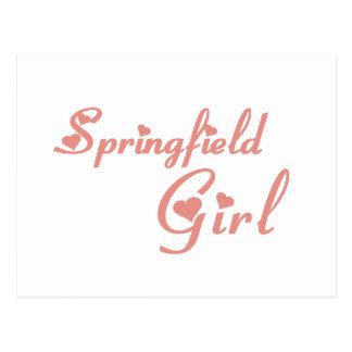Springfield Girl tee shirts Postcard