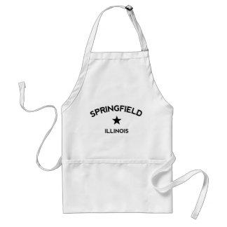 Springfield Illinois Adult Apron