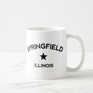 Springfield Illinois Basic White Mug