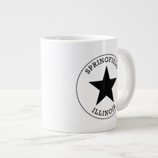 Springfield Illinois Giant Coffee Mug